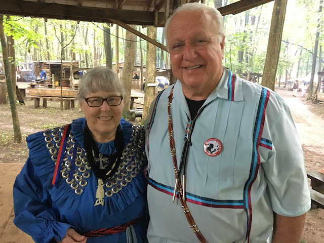 Honored Potawatomi Families at Trail of Courage
